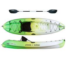 Ocean Kayak Frenzy - Sit On Top Kayak - Envy - Paddle Gratuit