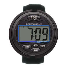 Reloj De Eventos Optimum Time - Negro - Temporizador Ecuestre