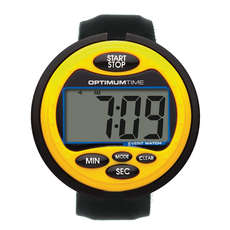Reloj De Eventos Optimum Time - Amarillo - Temporizador Ecuestre