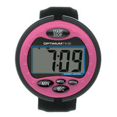 Reloj De Eventos Optimum Time - Rosa - Temporizador Ecuestre