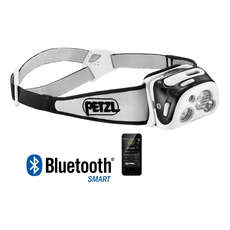 Petzl REACTIK® + 300L Rechargeable Headlamp - Black