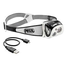 Petzl REACTIK® 220L Rechargeable Headlamp - Black
