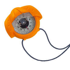 Plastimo Iris 50 Handheld Hand Bearing Compass - Orange