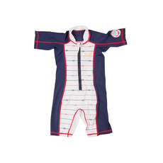 Gul Childrens Sun Suit 2017 - Navy/White