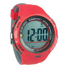 Ronstan Clear Start Sailing Watch  - Red / Grey