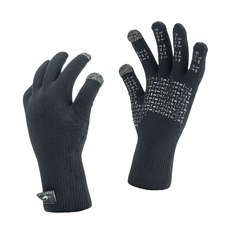 Gants De Voile Sealskinz Waterproof Ultra Grip - Noir