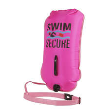 Swim Secure Dry Bag Tow Float 28 Ltr - Rosa Brillante