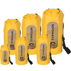 Typhoon Seaton Heavy Duty Roll Top Dry Bags - Yellow