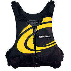 Typhoon Junior Yalu Buoyancy Aid  - Yellow Swirl