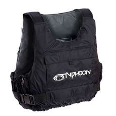 Typhoon Junior Yalu Side Zip Buoyancy Aid - Vivid Blue