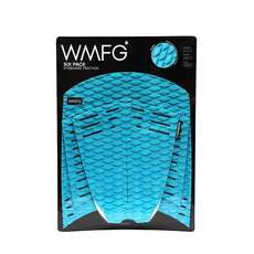 Wmfg Kiteboard Traction Pad - Classic Six Pack Pleine Pad - Sarcelle