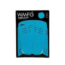 Wmfg Kiteboard Traction Pad - Coussinets Stubby Six Pack - Sarcelle