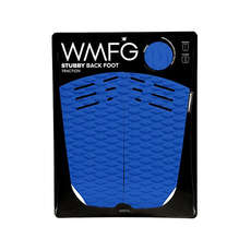 WMFG Kiteboard Traction Pad - Stubby Back Foot Pad - Blue/White
