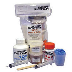 West Systems 101 Mini Pack Epoxy Resin & Hardener Kit [105/205]
