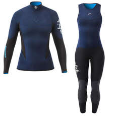 Zhik Womens Microfleece V Skiff Suit / Top Kit Bundle 2018