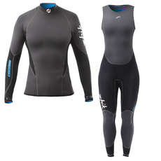Zhik Womens Microfleece X Skiff Suit / Top Kit Bundle 2018