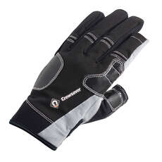Crewsaver Three Finger Gloves  - Negro