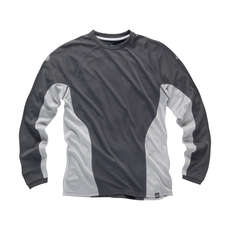 Gill i2 Mens Long Sleeve T-Shirt - Ash/Silver