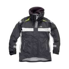 Gill OC1 Sailing Racer Jacket  - Graphite/Silver Grey