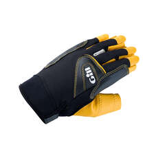 Gill Pro Short Finger Sailing Gloves 2018 - Black