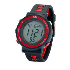 Gill Race Sailing Watch - Negro / Rojo