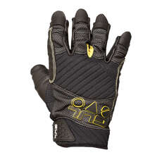 Gul Junior Evo Pro Short Finger Sailing Gloves 2019 - Black
