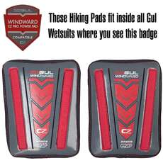 Gul Windward Hiking Pro Pads - Fit Inside Compatible Gul Wetsuits