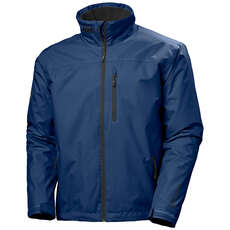 Helly Hansen Crew Mid Layer Jacket  - North Sea Blue