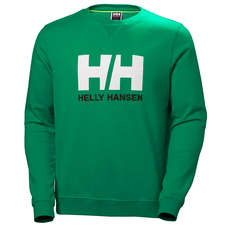 Helly Hansen Hh Logo Crew Sweater - Pepper Green
