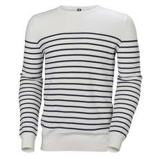 Helly Hansen Skagen Sweater - Stripes Offwhite