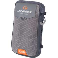 Lifeventure HydroFibre Trek Towel Pocket - Grey
