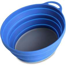 Lifeventure Silikon Ellipse Bowl - Blau