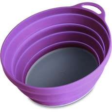 Lifeventure Silicone Ellipse Bowl - Purple