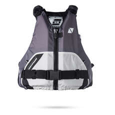 Magic Marine Wave Front-Zip Buoyancy Aid 2019 - Light Grey