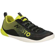 Musto Dynamic Pro Deck Shoes - Black/ Lime