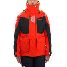 Musto Womens BR2 Offshore Jacket 2018 - Fire Orange/Black