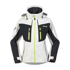 Musto Womens BR2 Race Lite Jacket - Platinum/Black