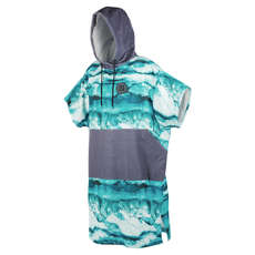 Mystic Allover Poncho  - Mint