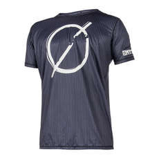 Shortsleeve Mystic Break Boundaries Quickdry 2018 - Negro
