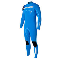 Mystic Majestic 3/2 Frontzip Kitesurfing Wetsuit  - Blue