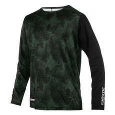 Mystic Majestic Long-Sleeve Quickdry Top  - Dark Olive