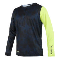 Mystic Majestic Long-Sleeve Quickdry Top  - Lime