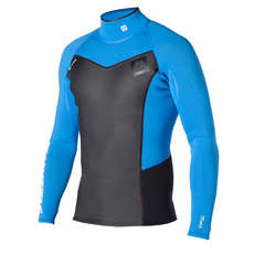 Mystic Majestic Neoprene Long Sleeve Vest - Blue