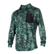 Blouse Mystic Shred Longsleeve Quickdry 2018 - Vert Allover