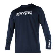 Mystic Star Long-Sleeve Quickdry Top  - Navy