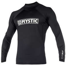 Mystic Star Long-Sleeve Rash Vest 2019 - Black
