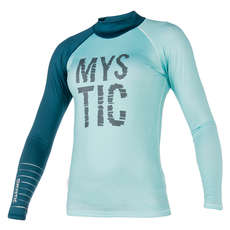 Mystic Women Dutchess Longsleeve Rash Vest 2018 - Teal