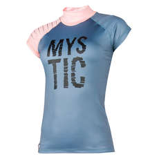 Mystic Women Dutchess Shortsleeve Rash Vest 2018 - Peltre