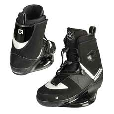 OBrien Juniors Nomad Wakeboard Bindings 2019 - Black/White