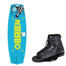 OBrien Valhalla Wakeboard & Access Binding Package 2019 - 143cm